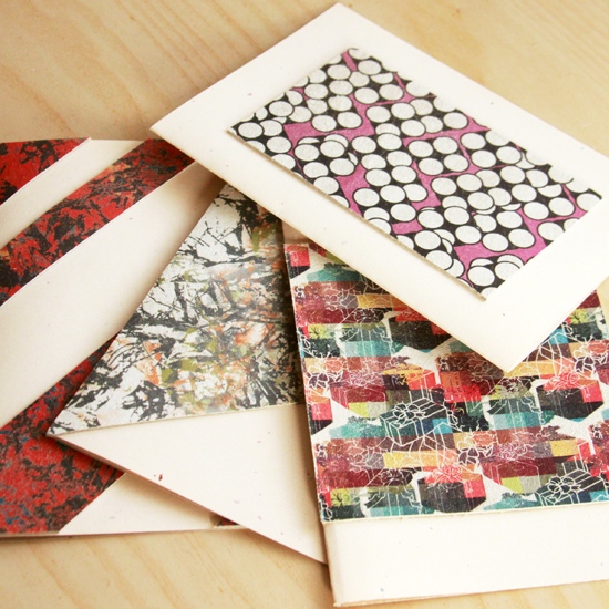 Diy printed leather greeting cards for the holiday season world of diy greeting cards m4hsunfo