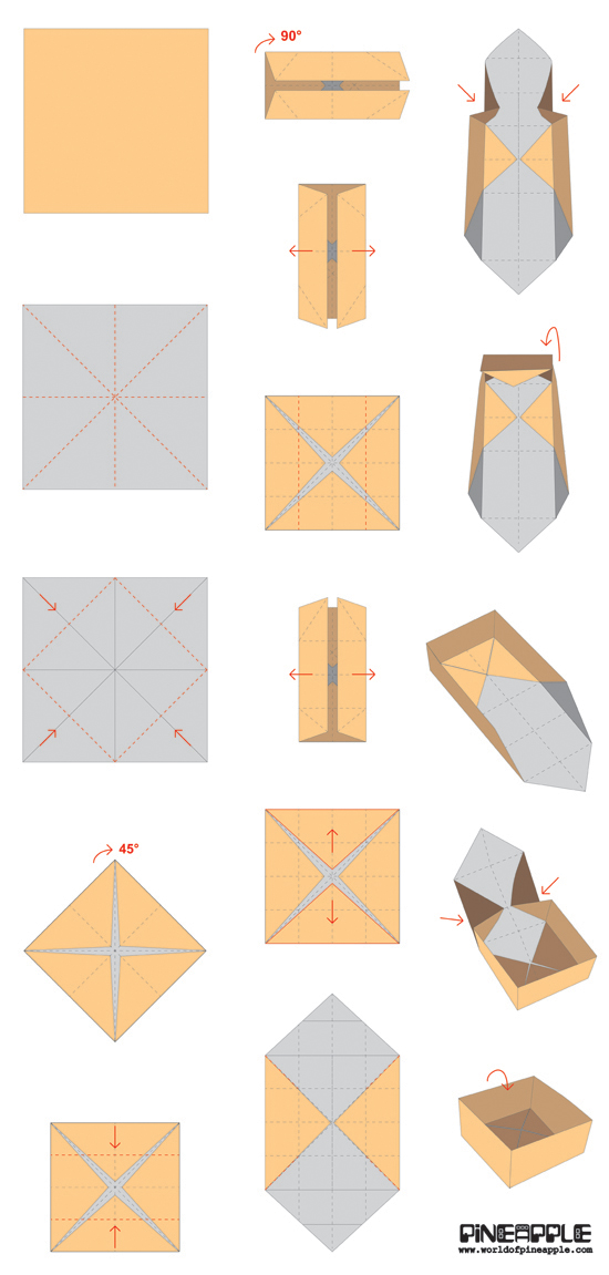 how to make a box out of paper - anuvrat.info
