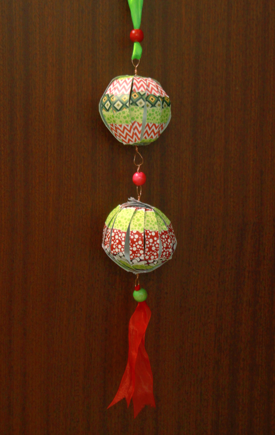 how to make wire balls decoration