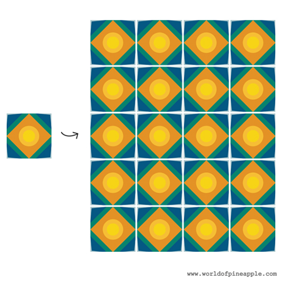 Design a Geometric Tile Pattern