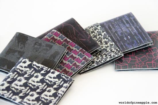 DIY leather wallet for men