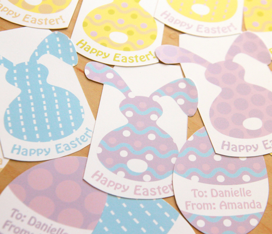 Easter Gift Tags by Pixiebear