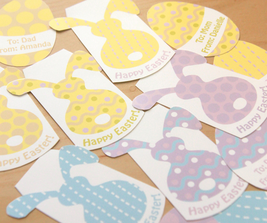 Easter Party Tags by Pixiebear