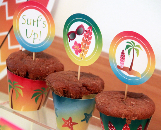 Summer Surf Birthday Party DIY Ideas by Pixiebear