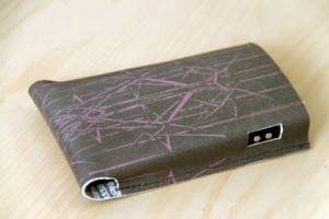printed leather case