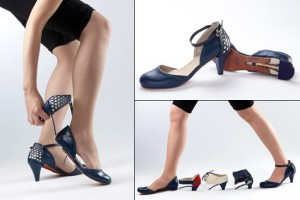 Modular Shoes by Daniela Bekerman