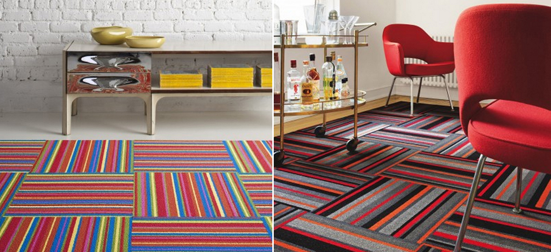 Carpet squares by FLOR