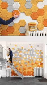 Hexagonal tiles by Form us with love