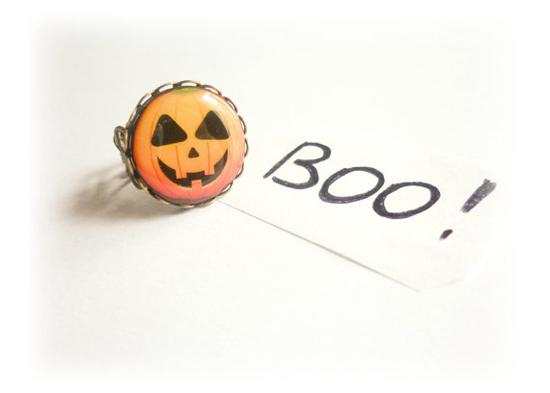 Pumpkin inspired ring