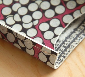 Leather sewing tips
