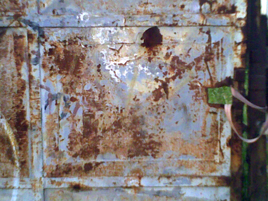 Rust on gate