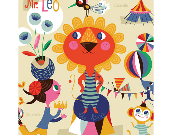 Mr Leo the King of the Circus by Helen Dardik