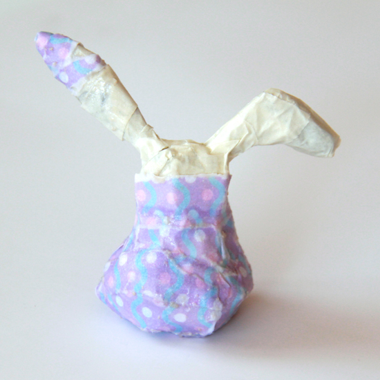 How to make a paper mache Bunny