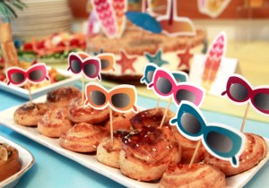 Summer Surf Party Decorations by Pixiebear