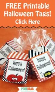 Pixiebear Halloween Tags Freebie