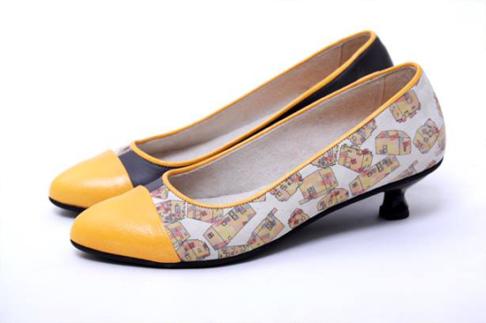 Textile Pattern Design for Oren Veksler Shoes by PINEAPPLE Studio