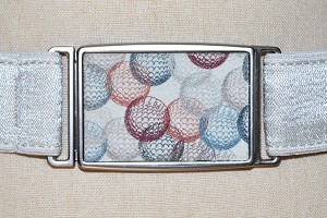 Golf themed textile designs for Hipsi Belts by PINEAPPLE Studio