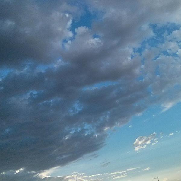 Clouds Pattern Photo by Noa Ambar Regev