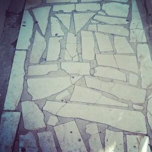 Paved building walkway - Pattern Photo by Noa Ambar Regev