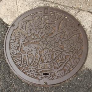 Nara Manhole Cover - Photo by PINEAPPLE Studio