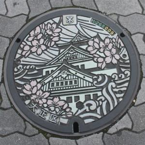 Osaka Manhole Cover - Photo by PINEAPPLE Studio