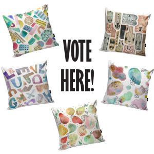 Cushion Designs by Noa Ambar Regev
